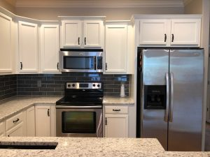 Middle Island Kitchen Cabinet Painting kitchen cabinet remodel 300x225