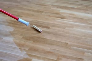 wood floor refinishing service